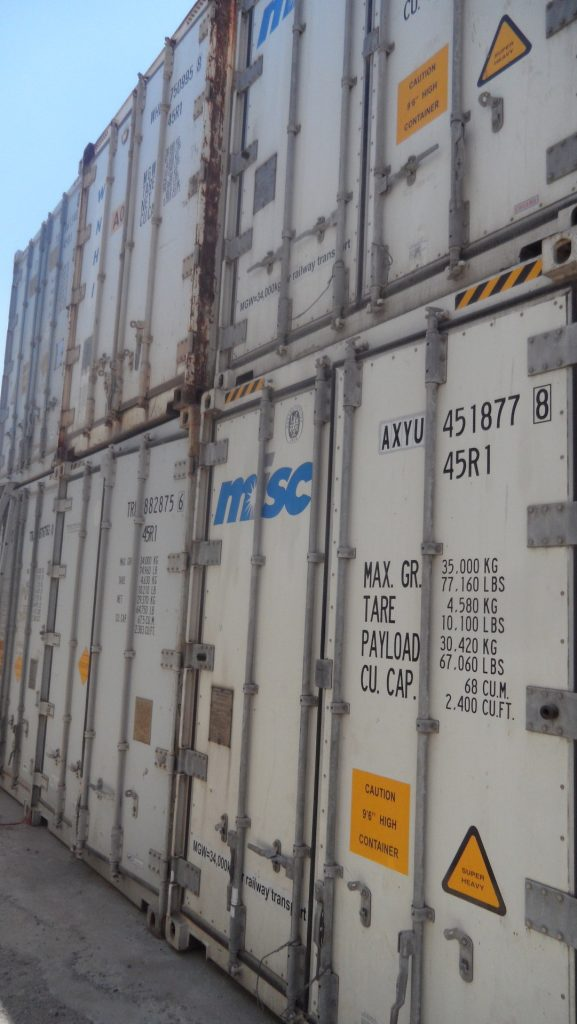 20 feet and 40 feet containers for sale